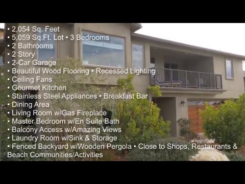 Beautiful Ocean View Home For Sale in Pismo Beach, California | #KristieCarterShow