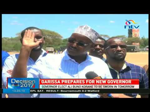 President of Southern Jubaland to attend swearing in of Garissa governor elect