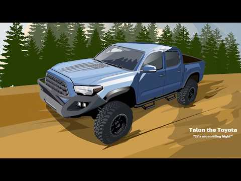 0-60 Video Promised 2016 Taco on 35s Stock Gears