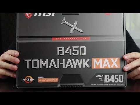Материнська плата MSI B450 Tomahawk Max (sAM4, AMD B450, PCI-Ex16)
