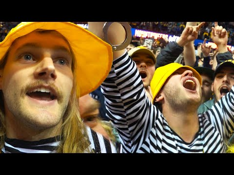 Storming The Court At West Virginia | Storm Chasers Vlog #4