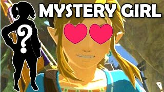 WHO is Link KISSING?? Link&#39s GIRLFRIEND in Breath of the Wild (BotW) in THE BASEMENT