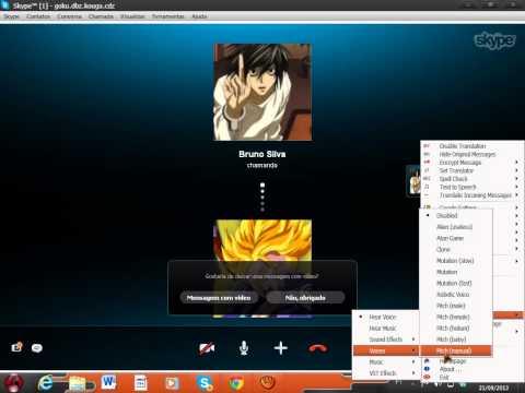 Como Usar O Clownfish No Skype