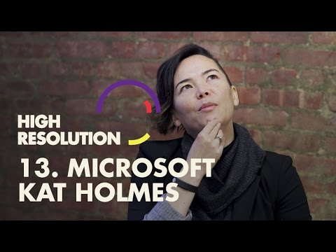 "#13: Microsoft Design Director, Kat Holmes, on the importance of designing for ""one-size-fits-one"""