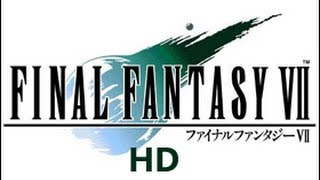 Classic PS1 Game FINAL FANTASY VII on PS3 in HD 1080p