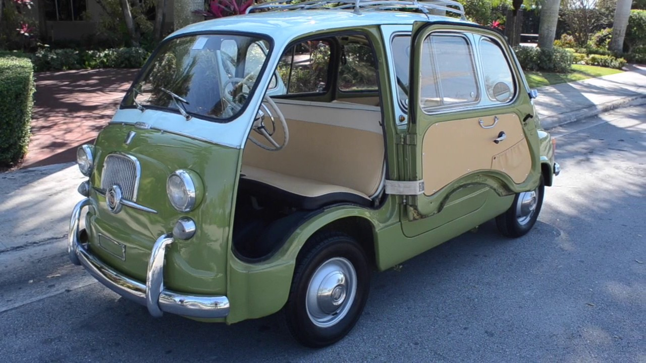 for sale 1963 fiat 600d multipla 750 youtube. Black Bedroom Furniture Sets. Home Design Ideas