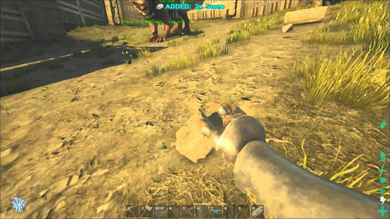 Ark Survival Evolved Gameplay Part 25 Veggie Farm For Kibble