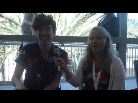 Adrian Bliss Interview at Vidcon 2016 - Day 1
