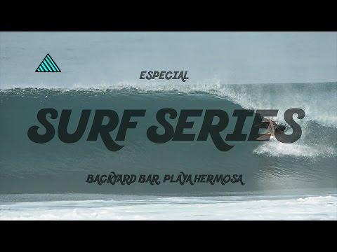 Episodio Especial de los Surf Series del Backyard Bar - Surfing Republica Costa Rica.