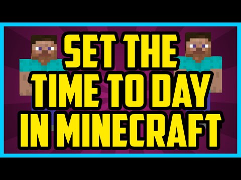 how to make permanent day in minecraft