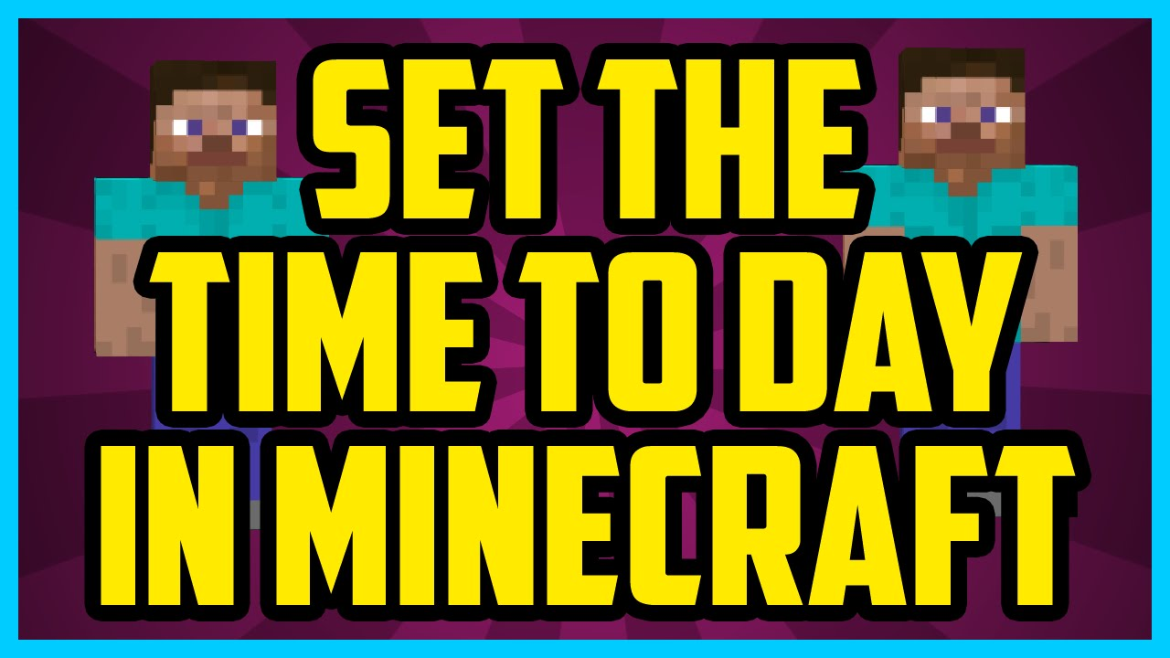 minecraft how to make it stay day