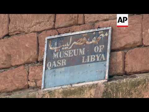 Museum shows off Palace of Libya's ancient mosaics