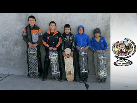 Afghan Youths Are Skateboarding to a Brighter Future