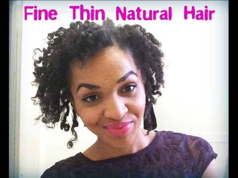 Maintaining a Defined Twist amp; Curl  Fine Thin Natural Hair  YouTube