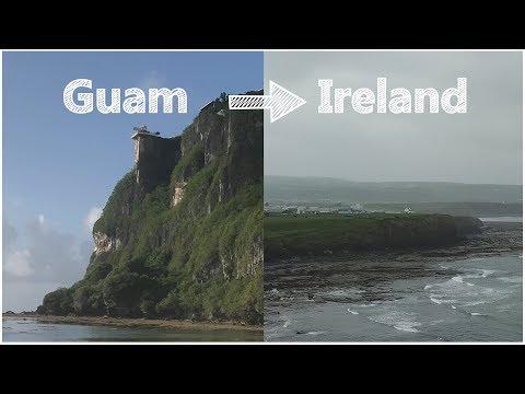 Guam → Ireland - A Really Bad Vlog