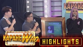 Gambar cover Vice Ganda is just to walk out of the stage | It's Showtime KapareWho