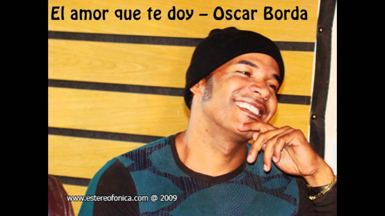 Image result for oscar borda perro amor