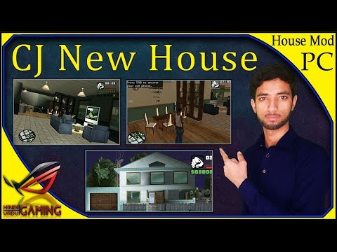 How to install GTA San Andreas CJ New House Interior PC In Hindi Urdu