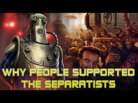 Why People Supported The CIS: Star Wars Lore