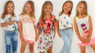 ZARA kids Haul  Детские покупки одежды на ЛЕТО с примеркои  Как одеть ребенка стильно | Часть 1