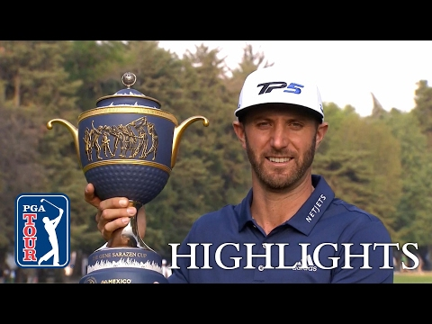Highlights | Dustin Johnson's clutch play leads to victory at Mexico Championship