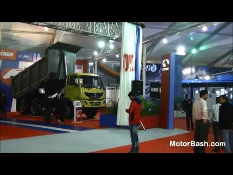 Walk around Commercial Vehicle stalls (Uncut) - Auto Expo 2014 Delhi,India