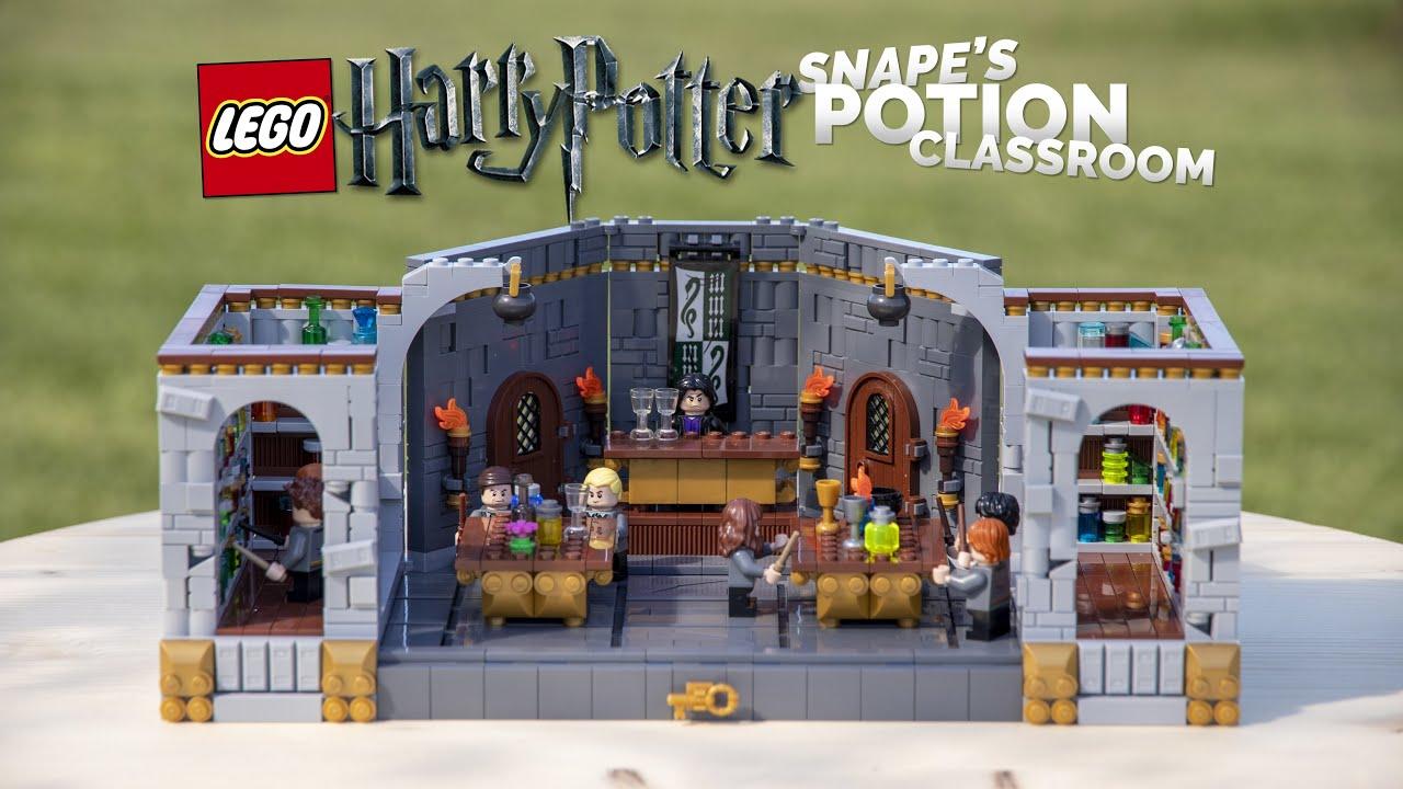 LEGO Harry Potter Hogwarts Potion Class MOC! // Snape's ...