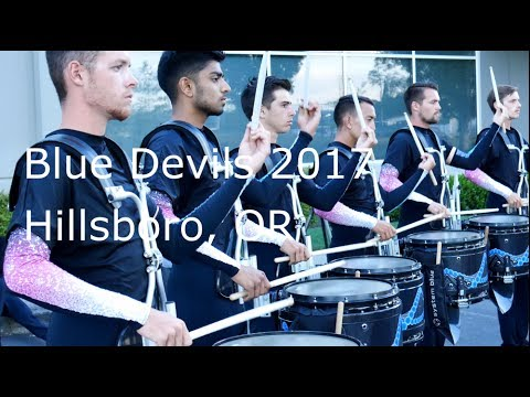 Blue Devils 2017 - Battery in the Lot - Hillsboro, OR {Quality Audio} [4K]