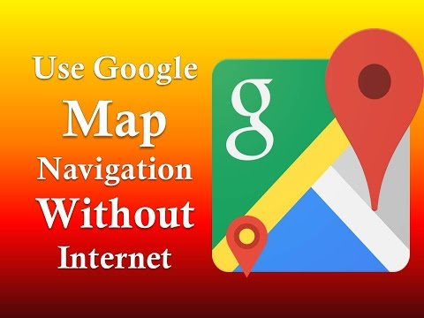How To Use Google Map Navigation Without Internet (offline) Easily