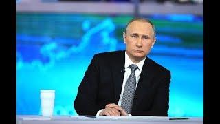 Прямая линия с Владимиром Путиным - 2019. Прямая трансляция