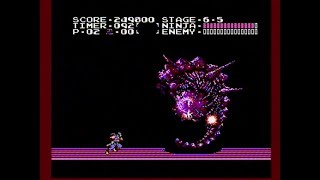 Ninja Gaiden NES - No death run