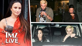 Demi Lovato Out Of Rehab & On A Date! | TMZ Live