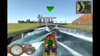 Boat Racing Gameplay and Commentary