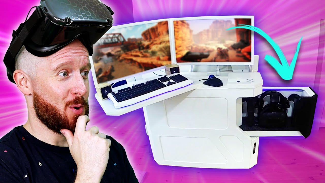 Insane Motorized VR Desk - VR Setups Ep.2