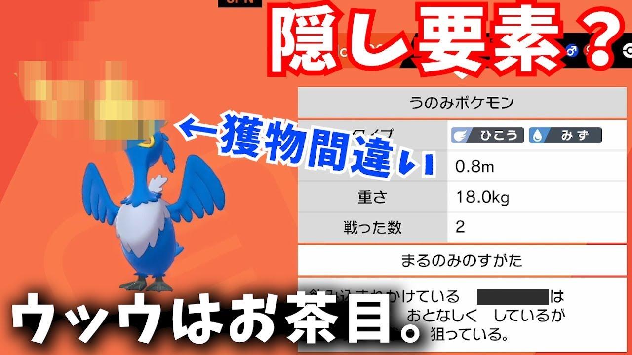 考察 ウッウ 【剣盾シングル】ウォーターパラダイス考察