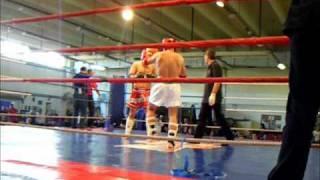 Magyar Amatőr Muay Thai Bajnokság 2010. Vitya 1. mérkőzés