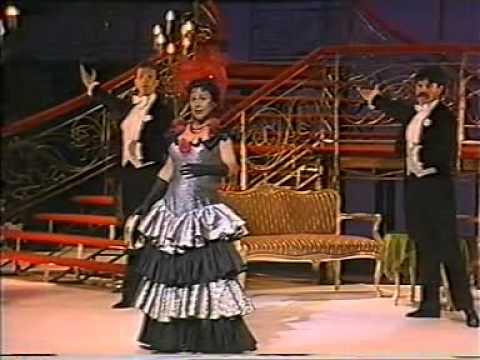 Operettgála Bergenben opera és operett sztárokkal 1988-ban