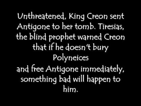 antigone short summary