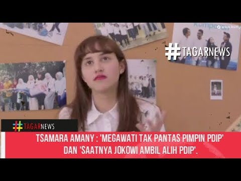 Tsamara Amany  'Megawati Tak Pantas Pimpin PDIP' dan 'Saatnya Jokowi Ambil Alih PDIP'