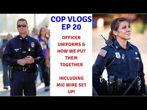 POLICE OFFICER UNIFORMS | COMMON TYPES & HOW THEY GO TOGETHER