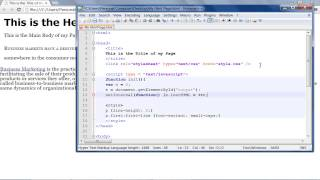 How to Use Scripting Elements in HTML
