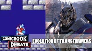 Evolution Of Transformers Games In 14 Minutes 2017