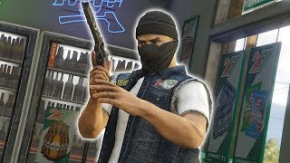 GAS STATION ROBBERY | GTA 5 ROLEPLAY