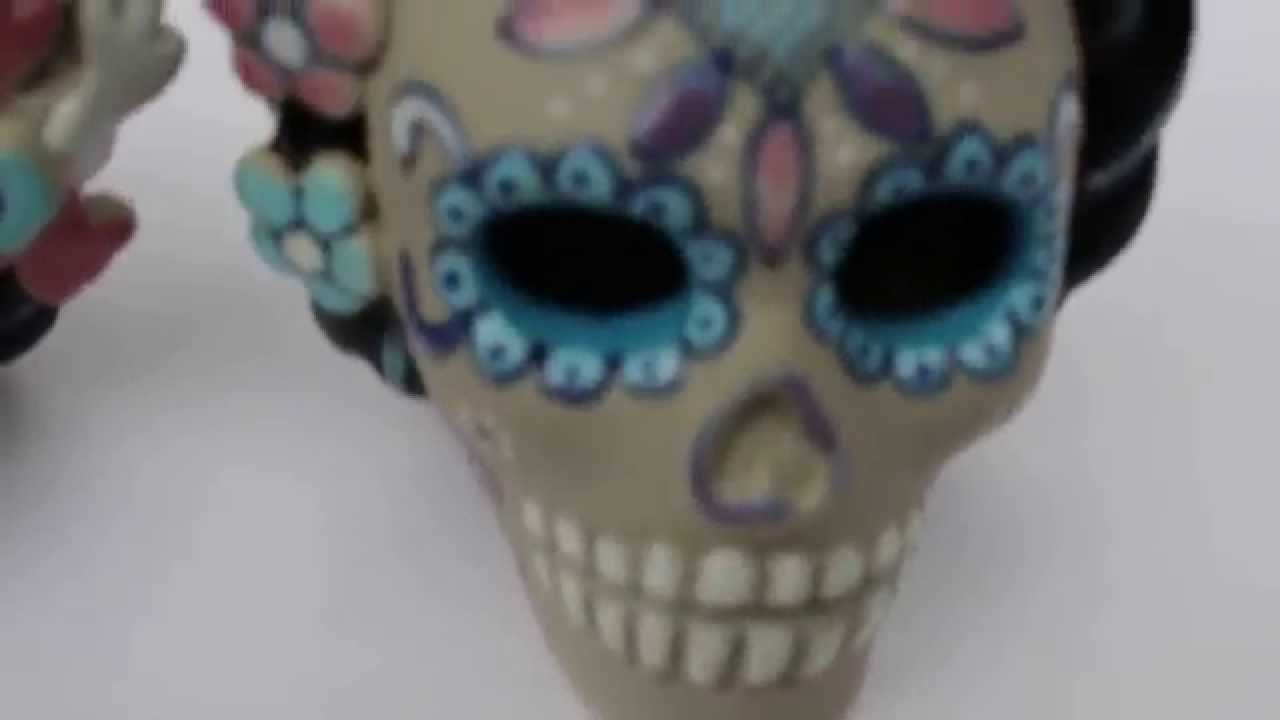 Armario De Quarto Solteiro Casas Bahia ~ Caveiras Mexicanas de Cer u00e2mica Originais da Família Servin Artesanato Mexicano YouTube