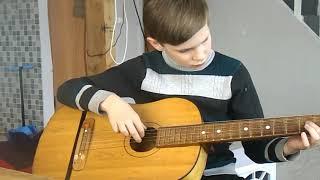 Игра на гитаре/ первые уроки/