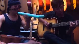 LOVE IS BLUE - SONG TẤU MELODION & GUITAR - HỢP ÂM CỰC CHUẨN