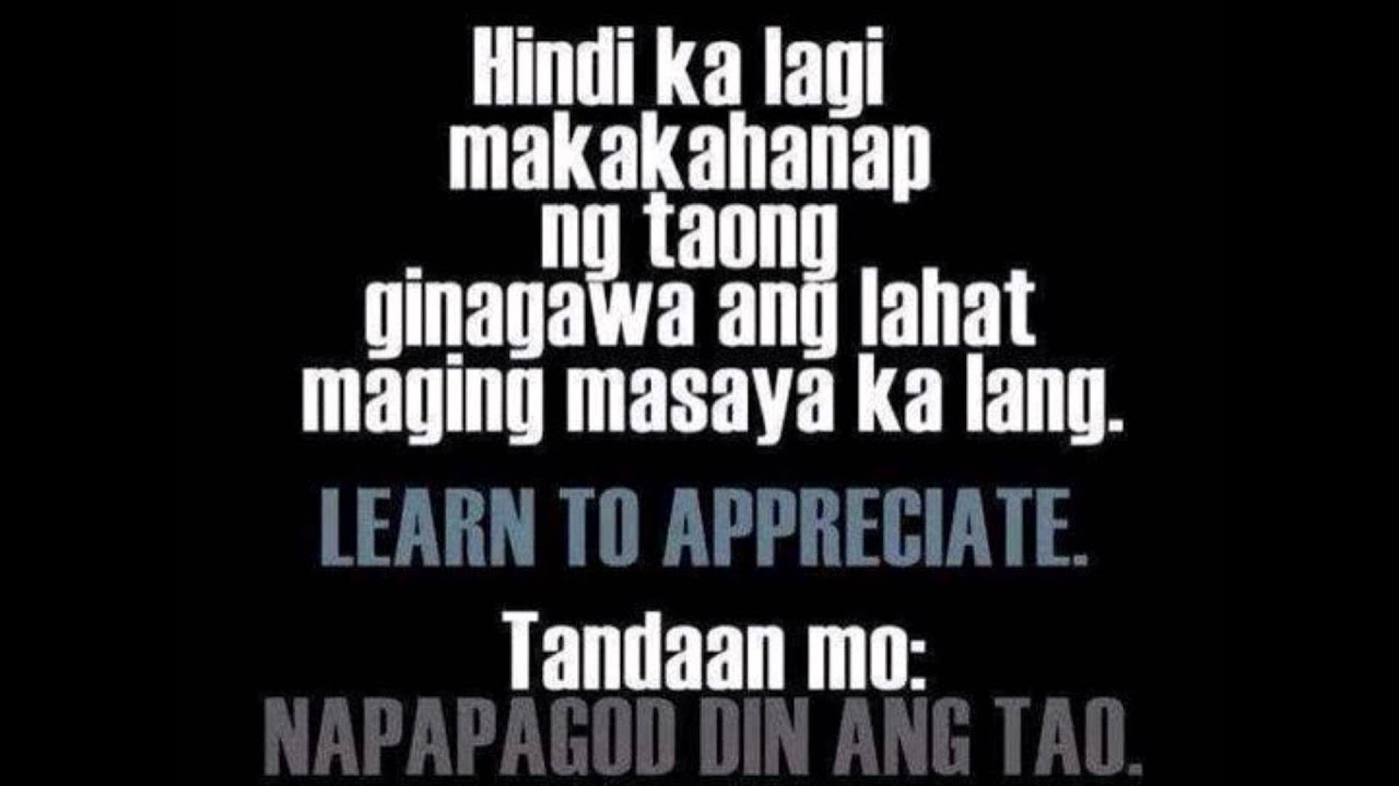 Love Move On Quotes Move On Tagalog Story  Youtube