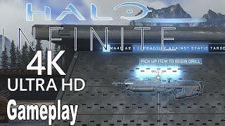 Halo Infinite - All Weapons Drills Gameplay [4K]
