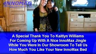 Kaitlyn Williams Singing A Fun Jingle In The InnoMax Showroom(This video features Kaitlyn Williams in our InnoMax showroom creating a fun InnoMax jingle on the spot. The Jingle was just a fun little way to let us know how ..., 2014-06-04T21:39:18.000Z)