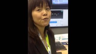 Mobile World Congress, 2015 - Mitsuyo Nishioka, NEC